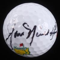 Jack Nicklaus Signed Masters Logo Golf Ball (JSA LOA)