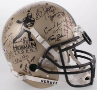Heisman Trophy Full-Size Authentic On-Field Helmet Signed by (30) with Cam Newton, Tim Tebow, Paul Hornung, Bo Jackson (JSA COA & JSA ALOA & Tebow Hologram)