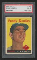 1958 Topps #187 Sandy Koufax (PSA 7)