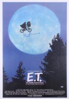 "Henry Thomas Signed ""E.T. the Extra-Terrestrial"" 26x38 Movie Poster Inscribed ""Elliott"" (Beckett COA)"