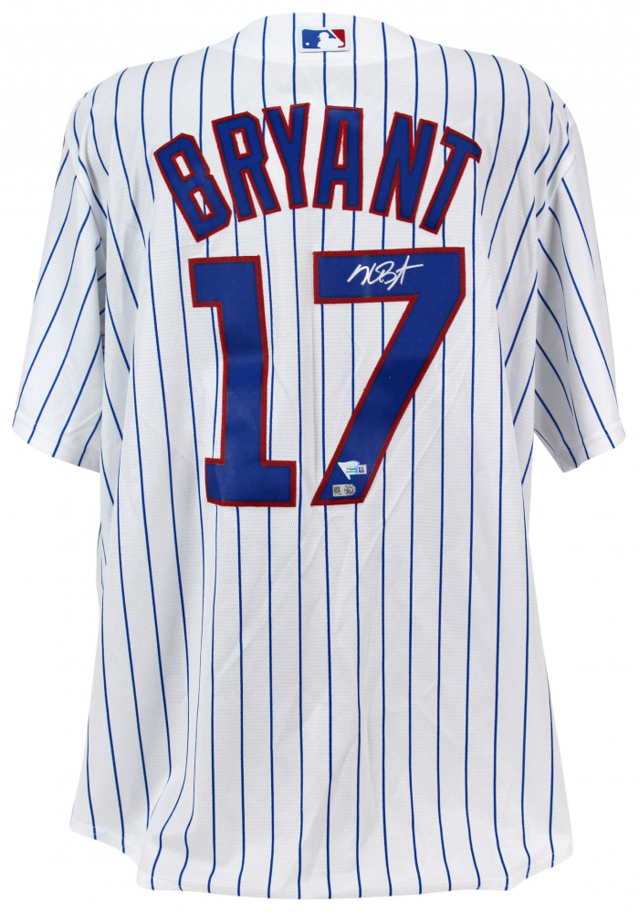 3ccae3028 Kris Bryant Signed Chicago Cubs Jersey (Fanatics Hologram   MLB Hologram) at  PristineAuction.