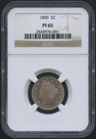 "1890 5¢ Liberty Head ""V"" Nickel - Proof (NGC PF 65)"