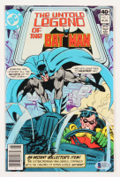 "Bob Kane Signed 1980 ""The Untold Legend of Batman"" Issue #2 DC Comic Book (Beckett COA)"