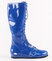 Ric Flair Signed Wrestling Boot (JSA COA)
