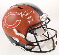 "Brian Urlacher Signed Chicago Bears Full-Size Hydro Dipped Speed Helmet Inscribed ""HOF 2018"" (JSA COA) at PristineAuction.com"