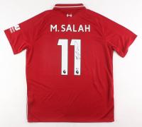 Mohamed Salah Signed Liverpool Jersey (Beckett COA)