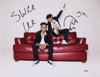 "Slim Jxmmi & Swae Lee Signed ""Rae Sremmurd"" 11x14 Photo Inscribed ""5x"" (PSA COA) at PristineAuction.com"