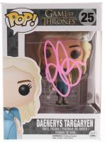 """Emilia Clarke Signed """"Game of Thrones"""" Daenerys Targaryen #25 Funko Pop! Vinyl Figure (PSA COA)"""