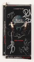 """Black Sabbath: Reunion"" Cassette Set Signed By (4) with Ozzy Osbourne, Bill Ward, Geezer Butler, & Tony Iommi (Beckett LOA) at PristineAuction.com"