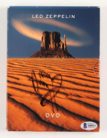 "Jimmy Page Signed ""Led Zeppelin"" DVD Cover (Beckett LOA)"