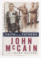 "John McCain Signed ""Faith of My Fathers: A Family Memoir"" Hard Cover Book (JSA COA)"