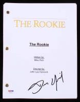 "Dennis Quaid Signed ""The Rookie"" Full Script (PSA COA) at PristineAuction.com"