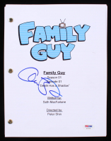 "Alex Borstein Signed ""Family Guy: Death Has A Shadow"" Episode Script (PSA COA)"