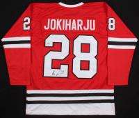 Henri Jokiharju Signed Chicago Blackhawks Jersey (Beckett COA) at PristineAuction.com