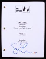 "Steve Carell Signed ""The Office: Michael Scott Paper Company"" Episode Script (PSA COA)"
