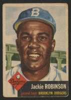 1953 Topps #1 Jackie Robinson at PristineAuction.com