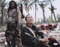 """Donnie Yen Signed """"Rogue One"""" 11x14 Photo (PSA COA) at PristineAuction.com"""
