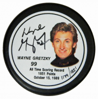 Schwartz Sports Hockey Hall of Famer Signed Logo Hockey Puck Mystery Box - Series 5 (Limited to 100) at PristineAuction.com