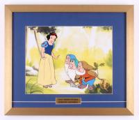 "Walt Disney's ""Snow White"" LE 17x20 Custom Framed Animation Serigraph Cel"