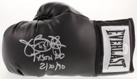 "James ""Buster"" Douglas Signed Everlast Boxing Glove Inscribed ""Tyson KO 2/10/90"" (JSA COA)"