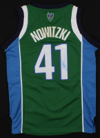 Dirk Nowitzki Signed Dallas Mavericks Jersey (JSA COA)