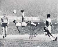 Pele Signed Brazilian National Team 16x20 Photo (PSA COA)