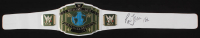 "Ric Flair Signed WWE Intercontinental World Heavyweight Wrestling Championship Belt Inscribed ""16x"" (JSA COA)"