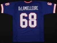 "Joe DeLamielleure Signed Buffalo Bills Jersey Inscribed ""HOF 03"" (JSA COA)"