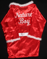 "Ric Flair Signed ""Nature Boy"" Wrestling Robe Inscribed ""16x"" (JSA COA)"