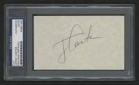 Jimmy Carter Signed 3x5 Index Card (BGS Encapsulated)