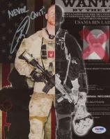 "US Navy Seal Robert J. O'Neill Signed Osama Bin Laden Collage 8x10 Photo Inscribed ""Never Quit!"" (PSA COA)"