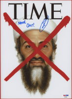 "Robert J. O'Neill Signed ""TIME"" Magazine 9x12 Photo Inscribed ""Never Quit!"" (PSA COA) at PristineAuction.com"