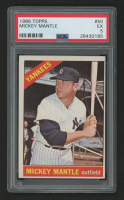 1966 Topps #50 Mickey Mantle (PSA 5)