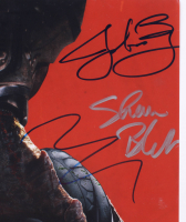 The Predator 12x18 Photo Signed by (8) With Shane Black, Olivia Munn, Thomas Jane, Sterling K. Brown (PSA LOA) at PristineAuction.com