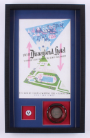 Disneyland Hotel 16.5x26.5x2 Custom Framed Poster Print Display with Ash Tray & Pin