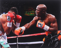 Floyd Mayweather Jr. Signed 16x20 Photo (PSA Hologram)