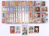 1954 Bowman Complete Set of (224) Baseball Cards with #1 Phil Rizzuto, #170 Duke Snider, #161 Yogi Berra, #89 Willie Mays, #65 Mickey Mantle (PSA 3.5)