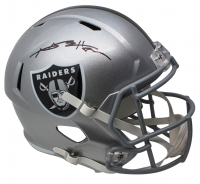 Antonio Brown Signed Oakland Raiders Full-Size Speed Helmet (JSA COA)