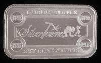 1 Troy oz .999 Fine Silver SilverTowne Bullion Bar
