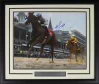Mike Smith Signed 22x27 Custom Framed Photo Display (Beckett COA)
