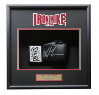 Mike Tyson Signed 18x19x4 Custom Framed Boxing Glove Display (JSA COA)