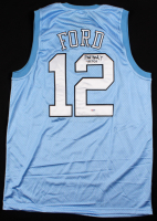 "Phil Ford Signed Jersey Inscribed ""78 POY"" (PSA COA) at PristineAuction.com"