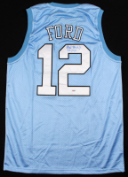 "Phil Ford Signed North Carolina Tar Heels Jersey Inscribed ""78 POY"" (PSA COA) at PristineAuction.com"