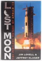 "Jim Lovell Signed ""Lost Moon: the Perilous Voyage of Apollo 13"" Hardback Book (Beckett COA)"