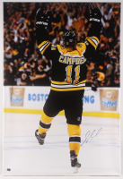 Gregory Campbell Signed Boston Bruins 30x44 Giclee on Canvas (Campbell COA) at PristineAuction.com
