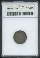 1895-O 10¢ Barber Dime (ANACS G 4) at PristineAuction.com