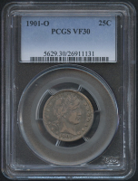 1901-O 25¢ Barber Quarter (PCGS VF 30) at PristineAuction.com