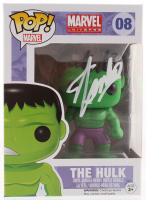 "Stan Lee Signed ""The Hulk"" #08 Funko Pop! Vinyl Bobble-Head Figure (Radtke COA & Lee Hologram) at PristineAuction.com"