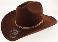 "Chandler Riggs Signed ""The Walking Dead"" Carl Grimes Sheriff Hat Inscribed ""Carl"" (Radke COA)"