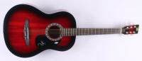 "Tom Morello Signed 38.5"" Acoustic Guitar (Beckett COA)"